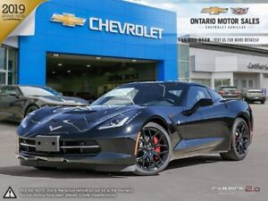 2019 Chevrolet Corvette Stingray COUPE / MEMORY PACKAGE / HEA...
