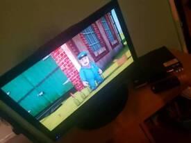 22 inch tv no remote.