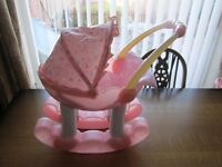 My First Baby Annabell 2-in-1 dolls pram rocker with interactive doll *VERY RARE