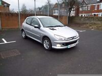 Peugeot 206 SPORT 1,4 only 63,000 miles 2005