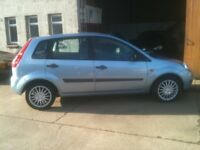 07 FORD FIESTA 1.2 5DR STYLE 62000MILES £2650