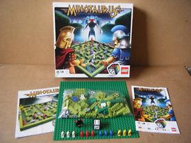 Lego (MINOTAURUS) game 3841. Complete in excellent condition.