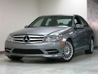 2011 C250 AWD CUIR TOIT SPORT PKG & SPORT SUSPENSION