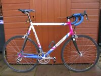 Campag Record throughout cycle, immaculate, large frame.