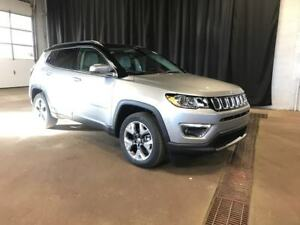 2019 Jeep Compass Limited 4X4 / Sunroof /NAV / Leather