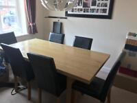 Dining table (NOT INCLUDING CHAIRS)