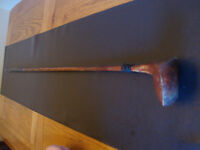 Peter Cafferty Wooden Shafted Golf Club