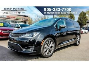 2017 Chrysler Pacifica LIMITED, BLIND SPOT MON, 360 CAM, TRI-PAN