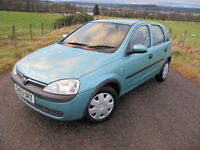 Vauxhall Corsa 1.2 16V Club 5 door. LONG MOT, ONLY NOW ONLY £995