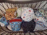 Complete Birth to Potty Cloth Nappy Set