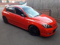 Mazda 3 MPS 284bhp 07 2007 hpi clear LOW MILES Better them gti vxr st type r