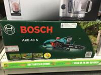 New!! Bosch AKE40 S Chainsaw