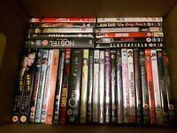 Box of 35 dvd's including box sets and special editions