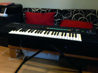 Casio Keyboard and Stand - Casiotone CT-460 Tonebank