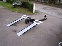Towing dolly spec rescue recovery trailer fold in well made