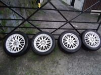 """Dezent Motion 15"""" Alloy Wheels for Sale"""
