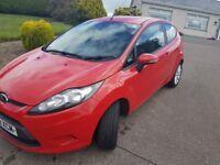 2012 ford fiesta 1.4 tdci diesel edge £20 tax 79000mls