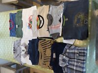 Boys 3-5 years old clothes.jumpers,t shirts,jeans,shorts.