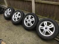 "MINI alloy wheels * 15"" * cooper one"