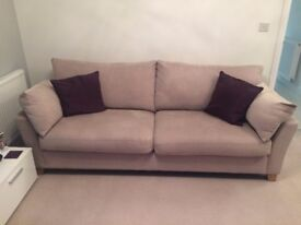 Two lovely grey sofas - great condition