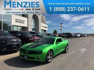 2011 Chevrolet Camaro 2LT RS, Bluetooth, Leather, Clean Carproof