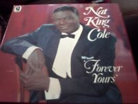 Boxed set of vinyl..Nat King Cole..Forever yours...6 record set....World Record Club..