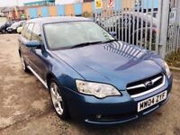 SUBARU LEGACY AUTOMATIC 3.0 R SPORT TOURER PETROL ESTATE 5 DOORS 1 OWNER LEATHER SEATS DRIVES NICE