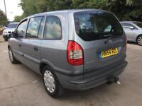 05 vauxhal zafira 7 seater new tow bar never used excellent engine clutch brakes bargain calls only!