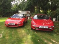 TWO MR2 MK2's For Sale - 1st. 1991 2.0L Twin Entry Turbo T-Bar - 2nd. 1991 2.0 GT-i16 T-Bar