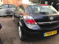 2008 VAUXHALL ASTRA SXI 1.4 PETROL. 3 DOOR. COUPE. SPARES OR REPAIRS. IDEAL EXPORT.
