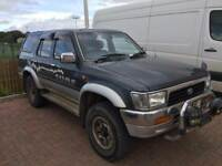 1 year mot Toyota hilux surf 3ltr turbo diesel automatic