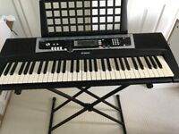 Yamaha YPT-210 keyboard including stand and cover - Excellent condition