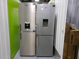 GRUNDIGGKF15810DN 50/50 Fridge Freezer - Frost Free - Brushed Steel