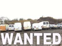 WANTED MERCEDES SPRINTER VANS are
