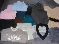 Job Lot Knitwear 13 Items All Size 8 (Willing To Sell Separate).