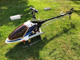 Compass Model 50 Sport 50/600-size radio controlled model helicopter