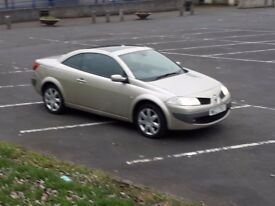 Renault megane converable