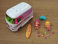 Pinypon camper van and dolls