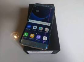 Samsung Galaxy S 7 edge smashed outer glass
