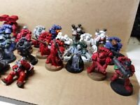 X25 Space marine job lot. Mixed models in various states of quality.