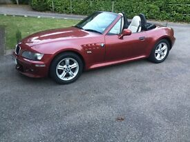 BMW Z3 2.2 Roadster (metallic imola red) 2001