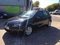 2011 Volkswagen Golf 1.6 TDI Diesel Match 5 Door **Full History** (FINANCE AND WARRANTY) astra