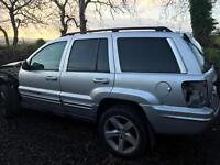 2004 Jeep Grand Cherokee 2.7 crd breaking all parts available