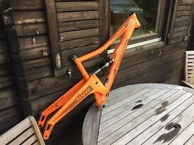 Medium orange five 650b frame