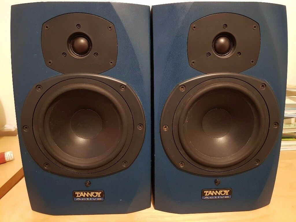 Tannoy Active Reveal Monitor Speakers