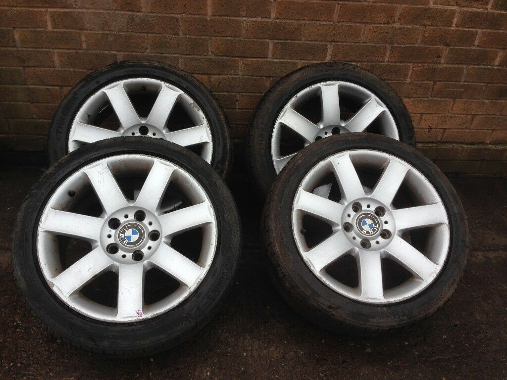 BMW 3 SERIES E46 ALLOY WHEEL SET 225/45/17