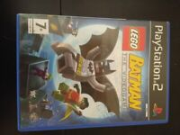 PS2 game Lego Batman the video game