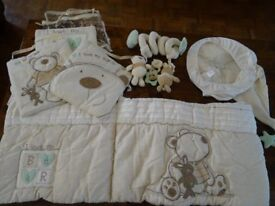Nursery / baby bedding / curtains etc