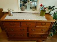 Solid wood Chest of Drawers/Sideboard