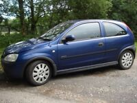 Vauxhall corsa - spares or repair - no MOT
